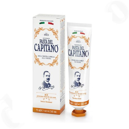 Pasta del Capitano Premium Collection Edition 1905 Rezept ACE Zahnpasta 75 ml