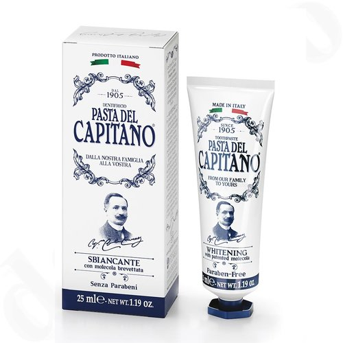 Pasta del Capitano Whitening Zahnpasta 25ml Premium Collection - Mini