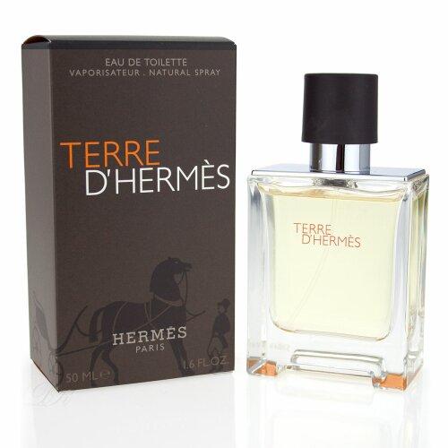 814c3cc4fd0 Hermes Terre D hermes Eau de Toilette Spray 50ml ...
